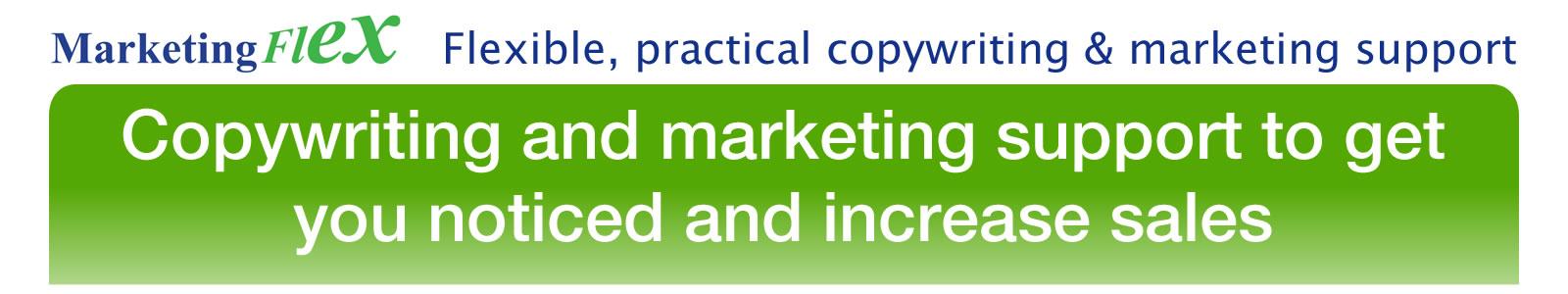 Marketing Flex header image